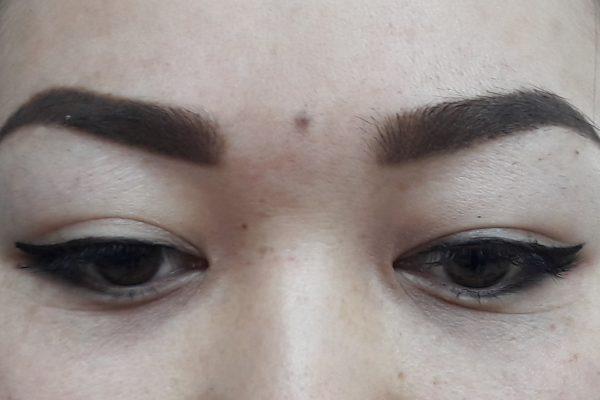 Перманентный макияж век